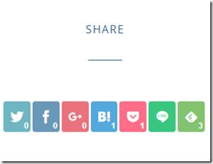 Simplicityのバイラルシェアボタンのデザイン(スマホ用)をカスタマイズ