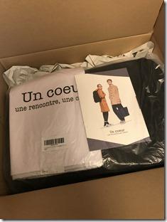 Un coeur(アンクール)の箱を空けたときの様子