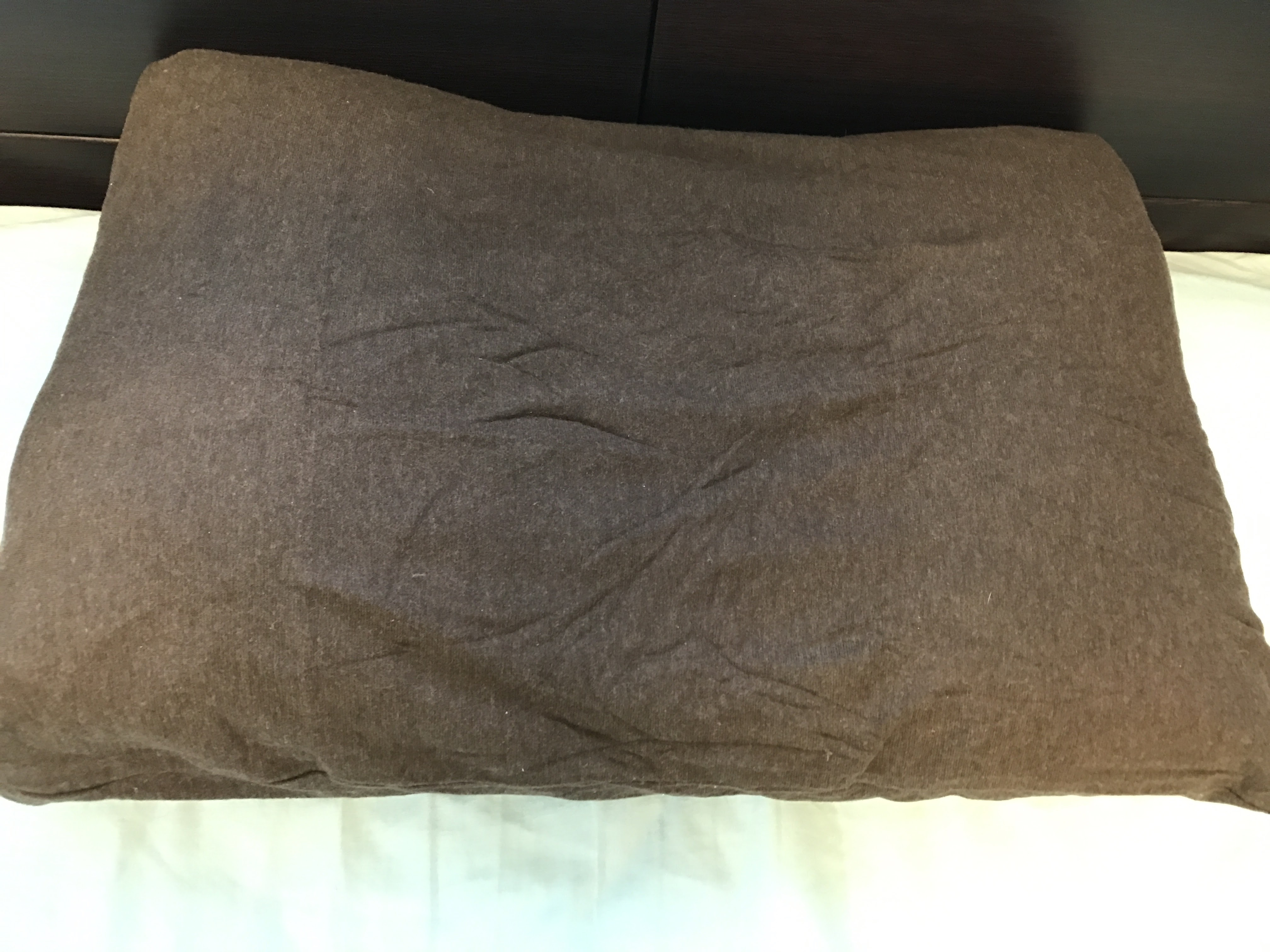 Lacooneru(ラクネル)に枕カバーをつけてみた