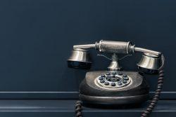 電話を使わないという効率化。電話を使わない理由。
